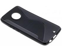 Zwart S-line TPU hoesje Motorola Moto X4