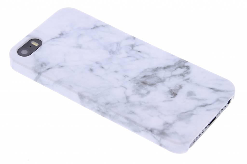 Conception De Marbre Blanc, Étui Rigide Pour Huawei Y5