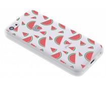 Transparant fruit design TPU hoesje iPhone 5c