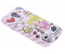 Blond Amsterdam I love my life softcase Galaxy S4