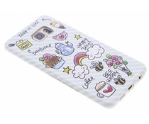 Blond Amsterdam Happy days softcase S6 Edge Plus