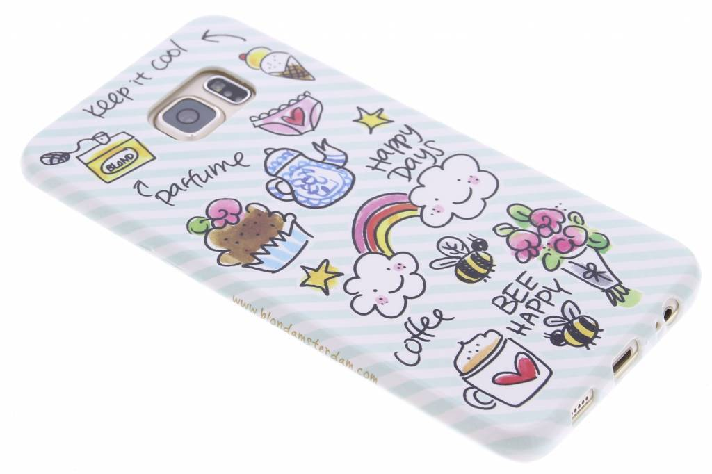 Blond Amsterdam Happy days softcase voor de Samsung Galaxy S6 Edge Plus