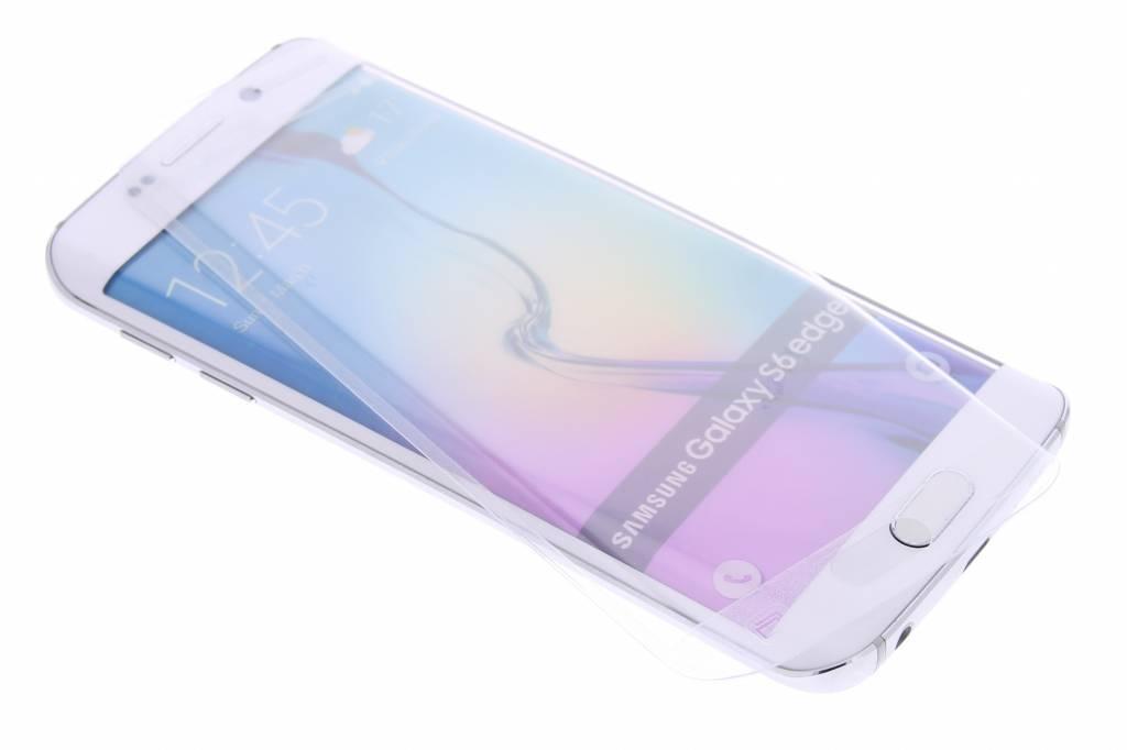 Gehard glas edge to edge screenprotector Galaxy S6 Edge