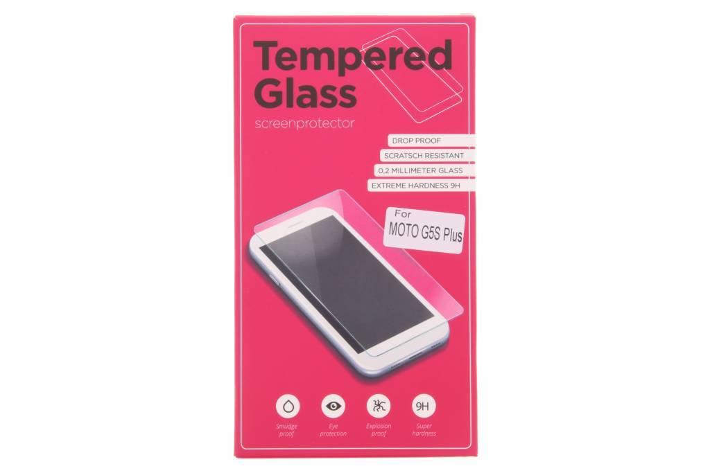 Gehard glas screenprotector Motorola Moto G5S Plus