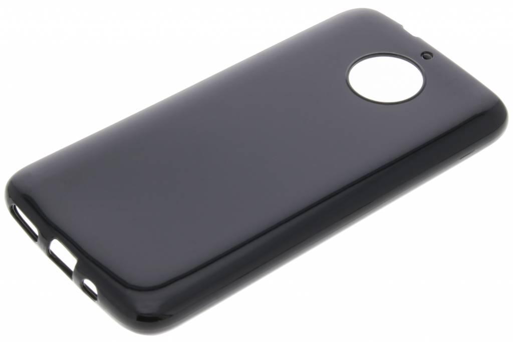 Cas De Gel Noir Pour La Moto Motorola G5s mzmc1F