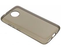 Grijs transparant gel case Motorola Moto G5S Plus