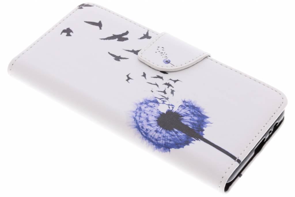 Paardenbloem design TPU booktype hoes voor de Samsung Galaxy A8 (2018)