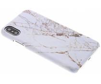 Selencia White Marble Passion Hard Case iPhone X
