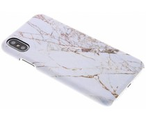 Selencia White Marble Passion Hard Case iPhone Xs / X