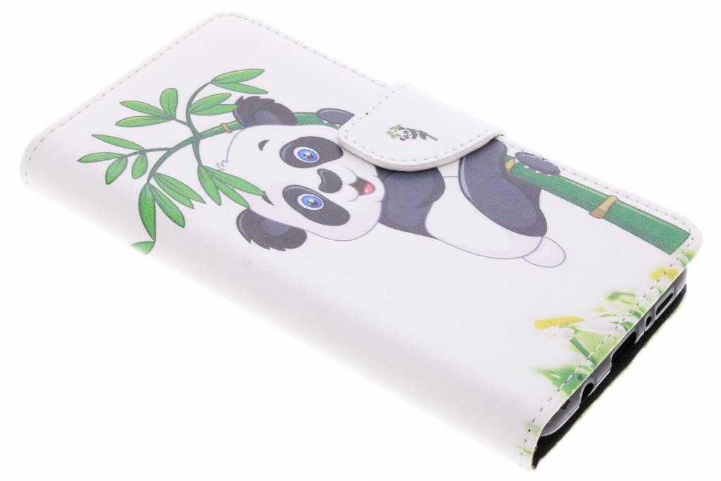 Panda in boom design TPU booktype hoes voor de Samsung Galaxy S9 Plus
