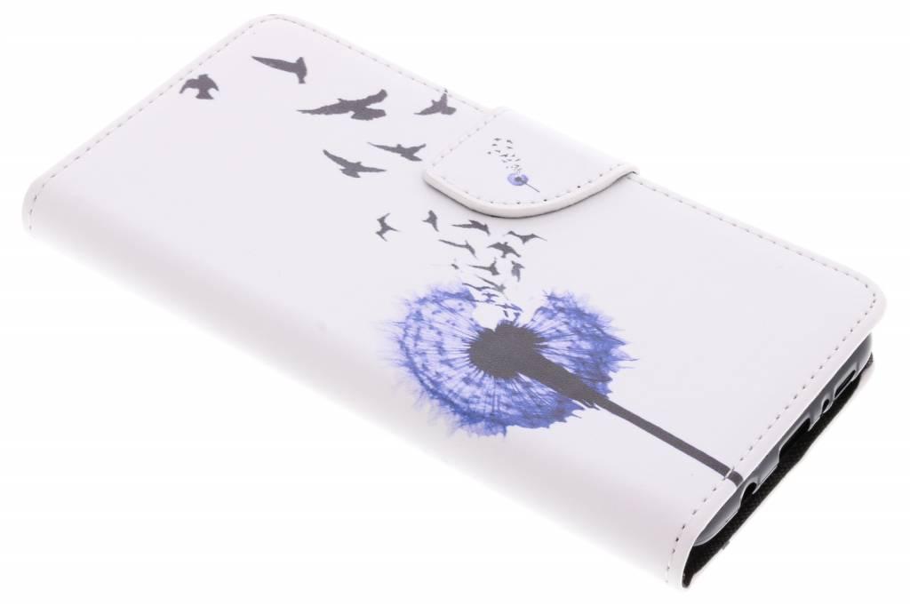 Paardenbloem design TPU booktype hoes voor de Samsung Galaxy S9 Plus