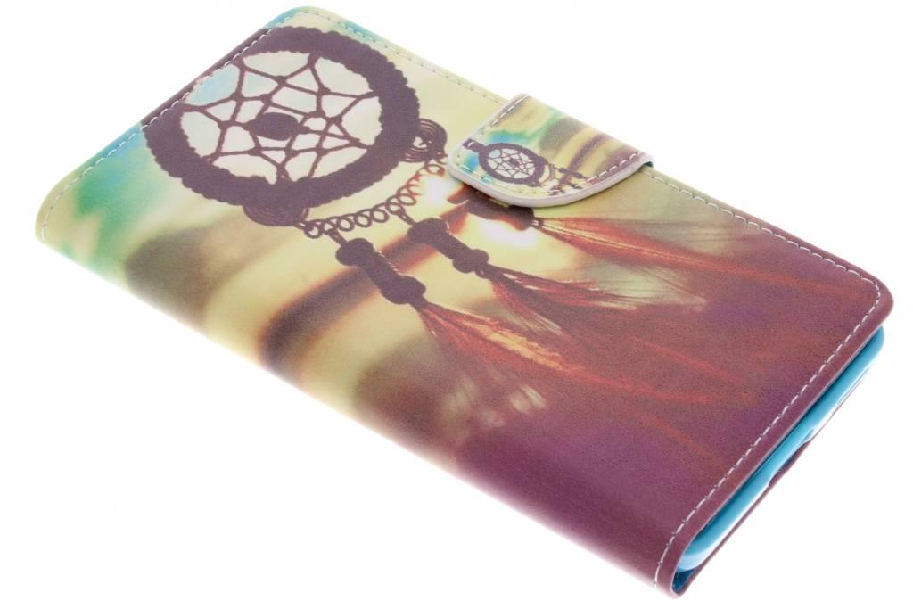 Dromenvanger design TPU booktype hoes voor de Nokia 6