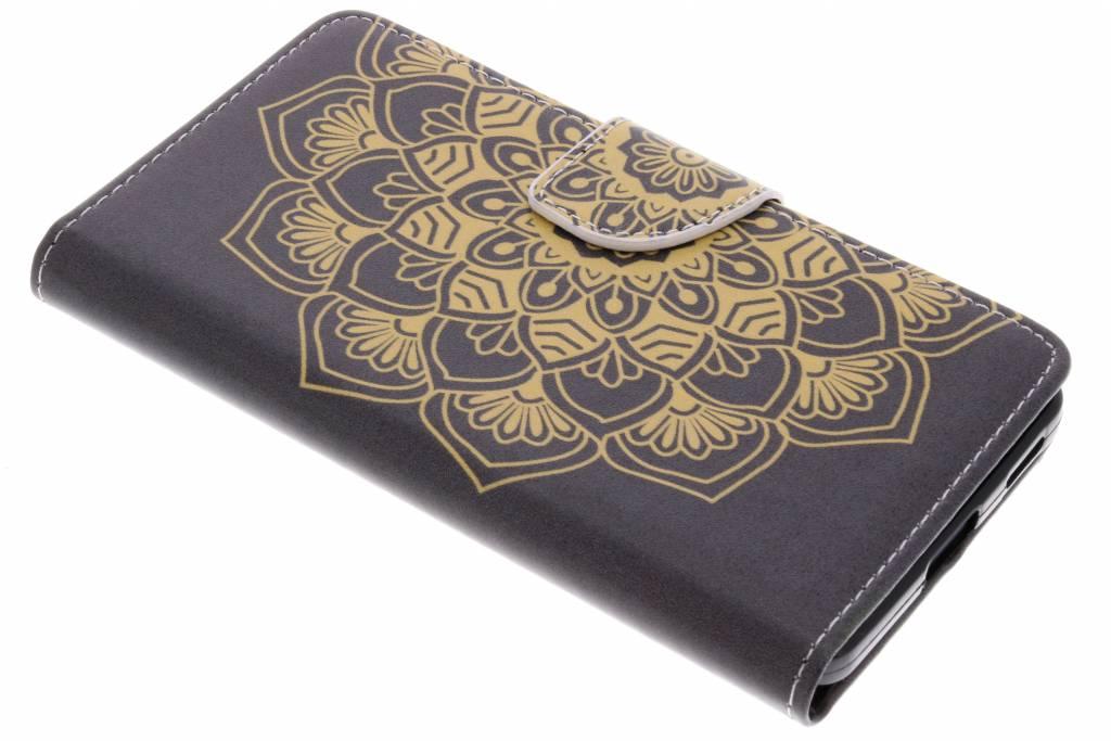 Mandala design TPU booktype hoes voor de Nokia 6