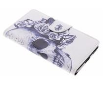 Design TPU booktype hoes Nokia 6