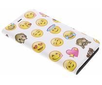 Emoji Design Booklet Motorola Moto G5S Plus