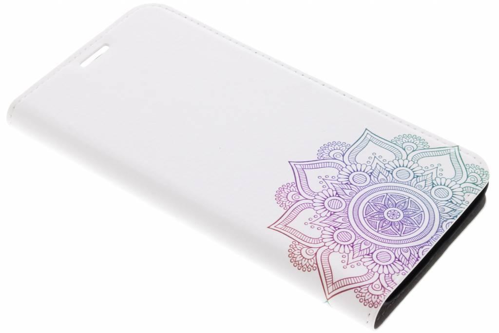 Multicolor Mandala Design Booklet voor de Motorola Moto G5S Plus