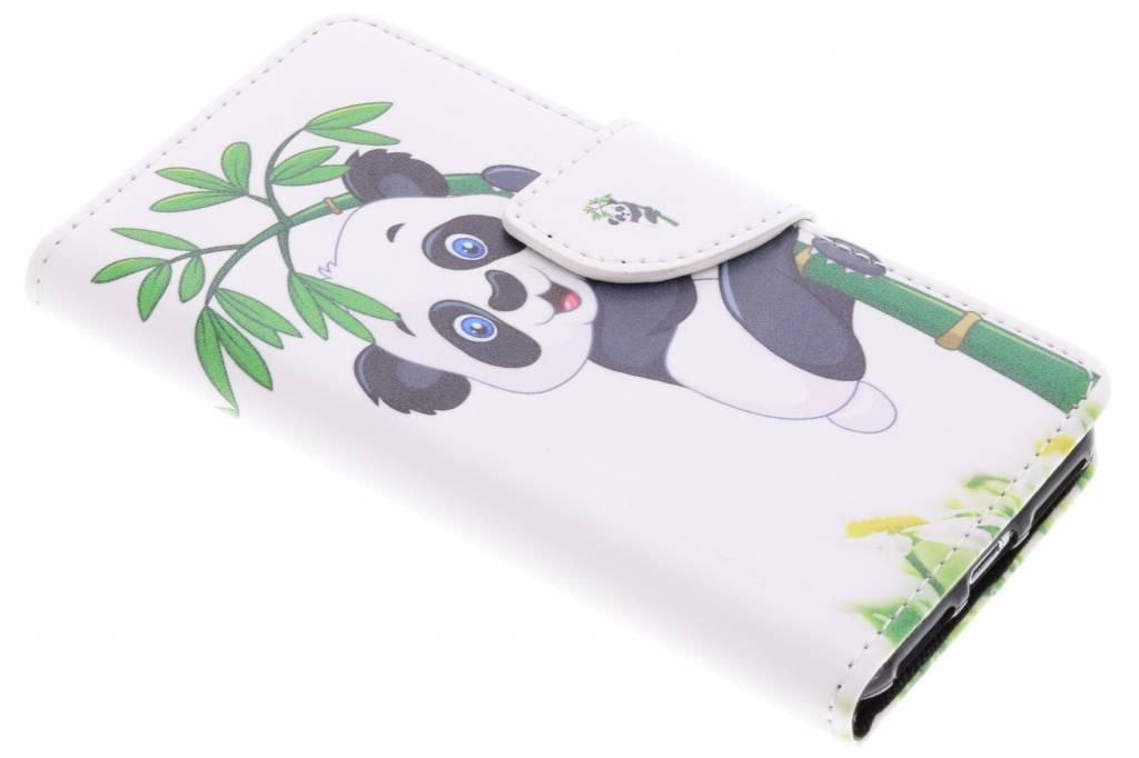 Panda in boom design TPU booktype hoes voor de iPhone 8 / 7