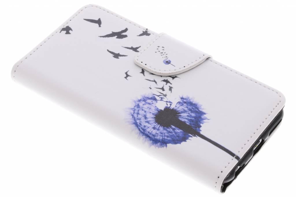 Paardenbloem design TPU booktype hoes voor de iPhone 6 / 6s