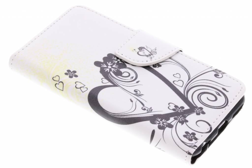 Hartje design TPU booktype hoes voor de iPhone 6 / 6s