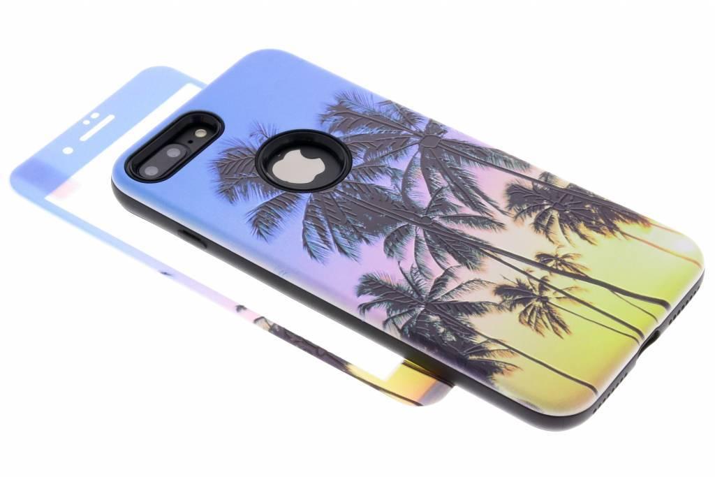 360° Palmbomen design hardcase voor de iPhone 8 Plus / 7 Plus