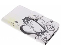 Design TPU booktype hoes Nokia 7