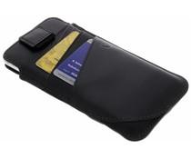 Valenta Zwart Pocket Supreme iPhone 8 / 7 / 6 / 6s