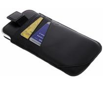 Valenta Zwart Pocket Supreme iPhone Xs / X