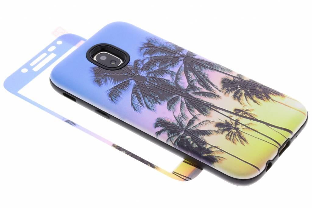 360° Palmbomen design hardcase voor de Samsung Galaxy J5 (2017)