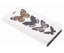 Vlinder Design TPU Booklet Huawei Y6 Pro (2017)