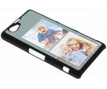 Ontwerp uw eigen Sony Xperia XZ1 Compact hardcase - Zwart