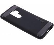 Spigen Zwart Rugged Armor™ Case Samsung Galaxy S9 Plus