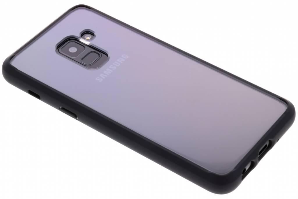 Zwarte Ultra Hybrid™ Case voor de Samsung Galaxy A8 (2018)