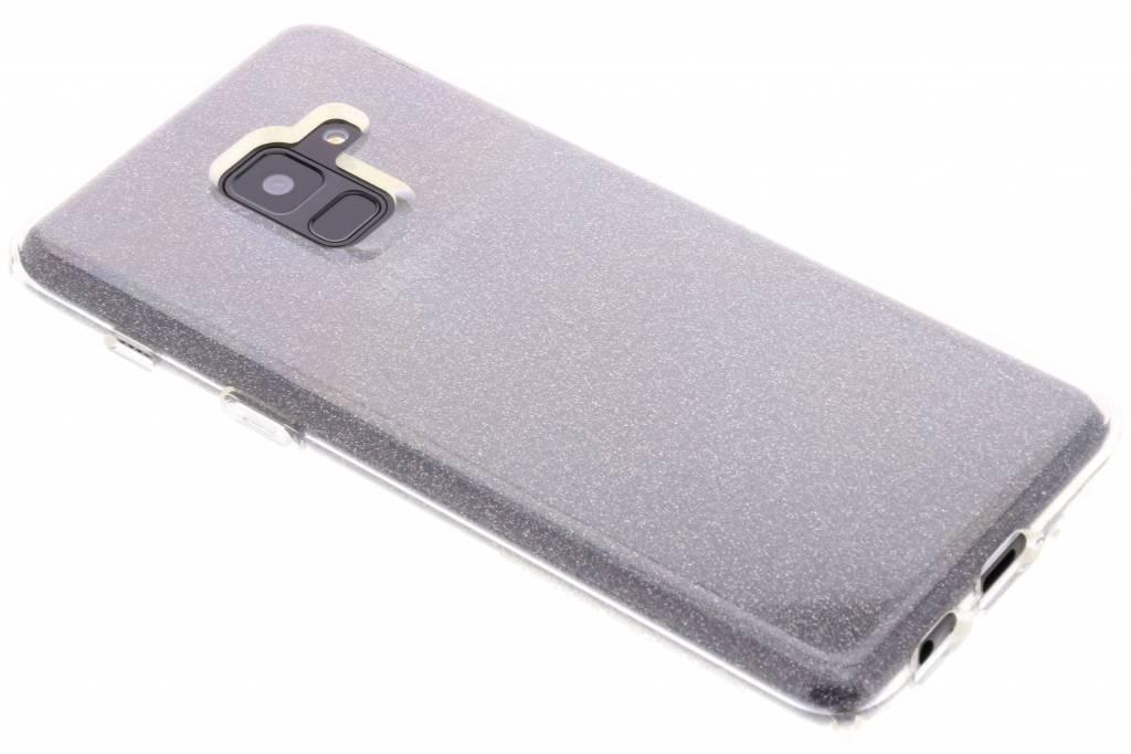 Transparante Liquid Crystal Glitter™ Case voor de Samsung Galaxy A8 (2018)