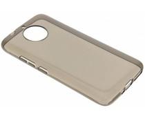 Grijs transparant gel case Motorola Moto G5S