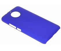 Blauw effen hardcase hoesje Motorola Moto G5S