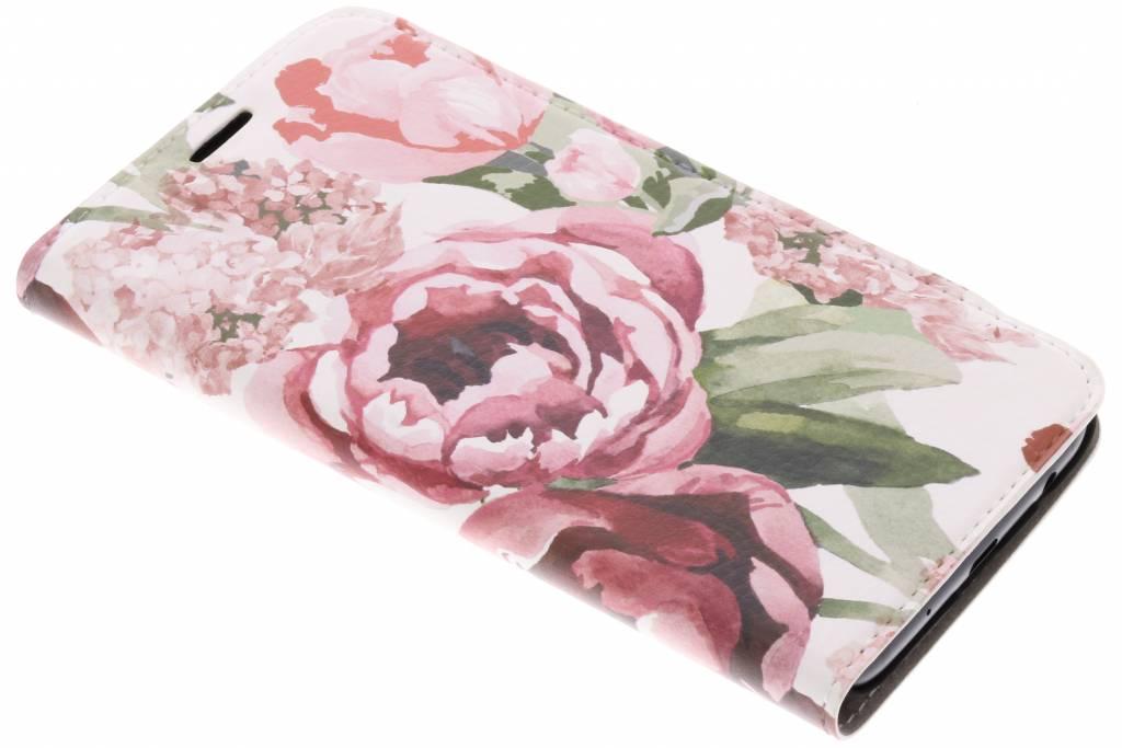 Bloemen Design Booklet voor de Samsung Galaxy J5 (2017)