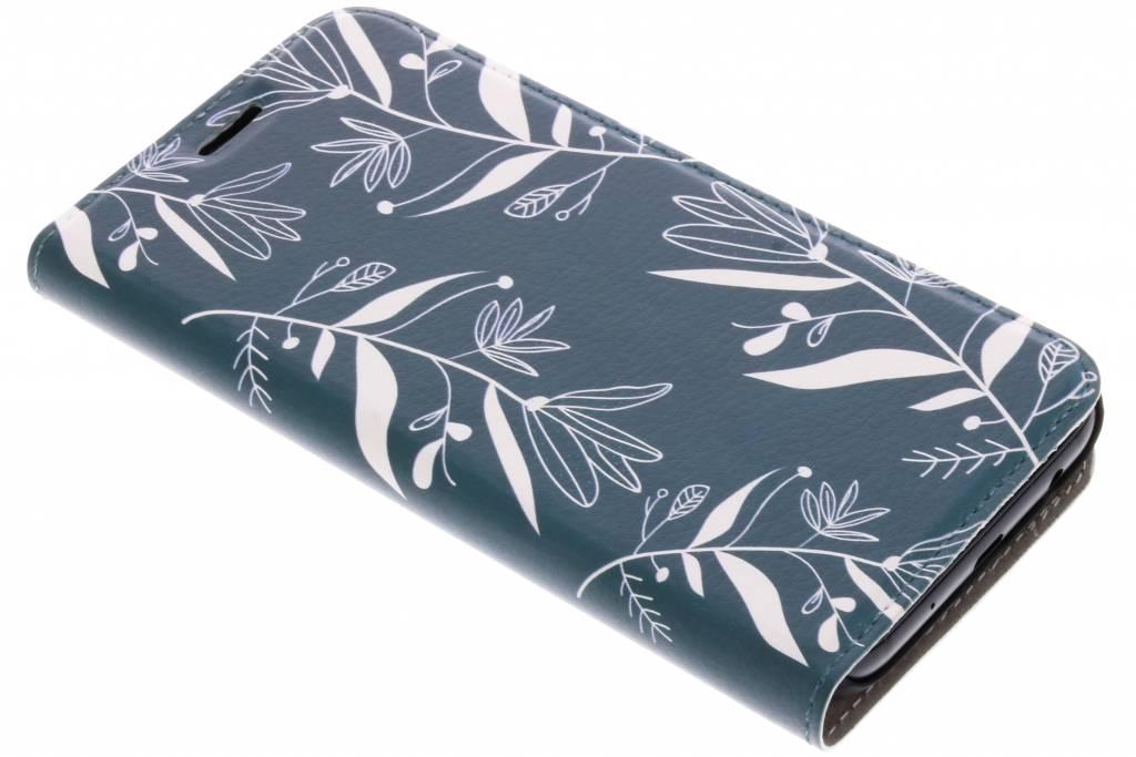 Botanic Bloem Design Booklet voor de Samsung Galaxy J5 (2017)