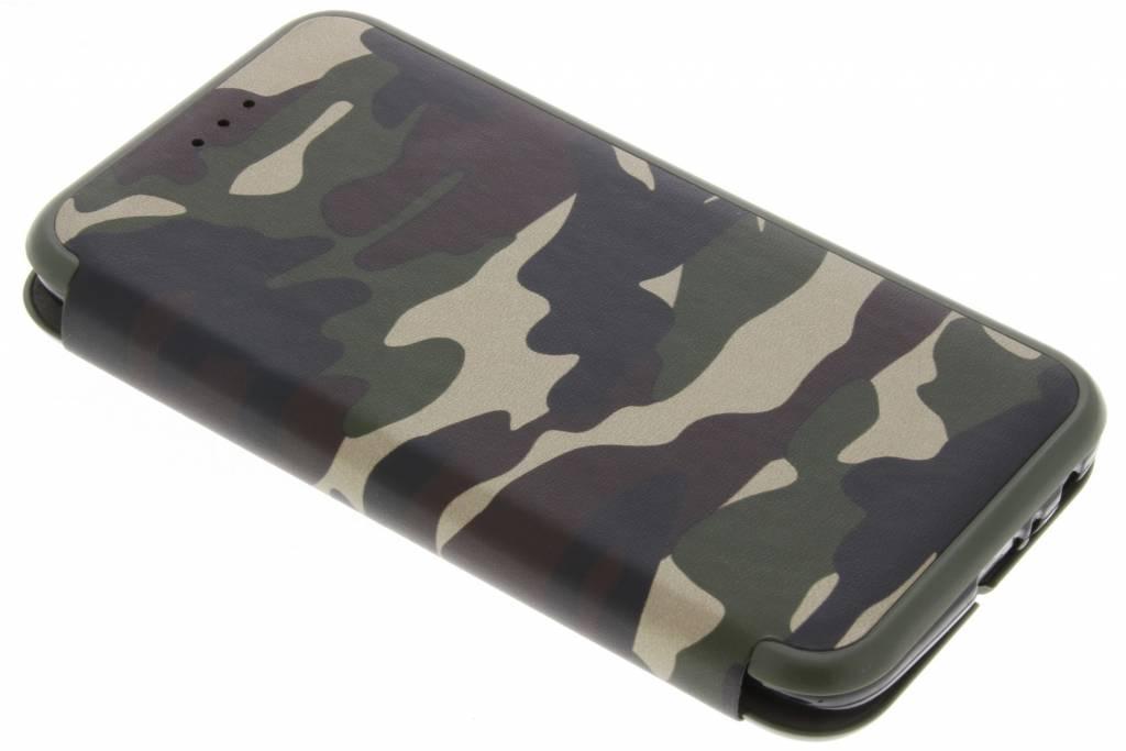 Groene Army Slim Folio Case voor de Motorola Moto G5 Plus