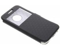 Zwart Rhombus hoesje Motorola Moto G5 Plus