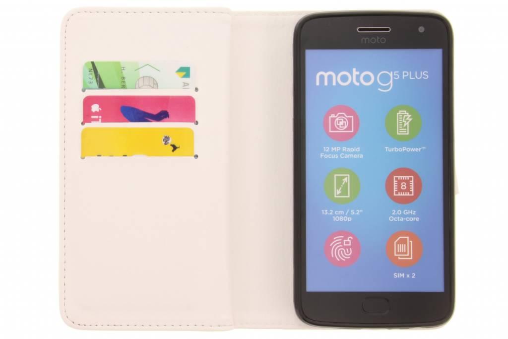 Plumes De Conception Sac À Main Pour Motorola Moto Tpu G5, Plus