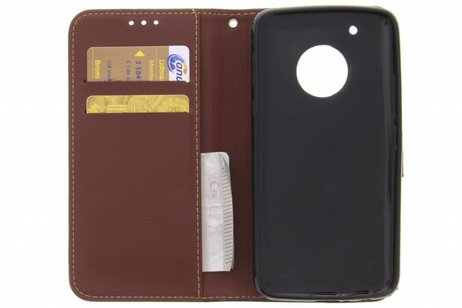 Conception Feuille Brune Booktype Tpu Case Pour Samsung Galaxy S8 g0CegUw