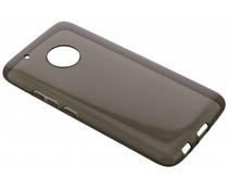 Grijs transparant gel case Motorola Moto G5 Plus