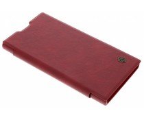 Nillkin Rood Qin Leather slim booktype Sony Xperia XA2 Ultra