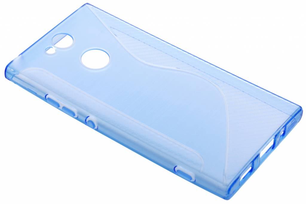 Blauw S-line TPU hoesje voor de Sony Xperia XA2