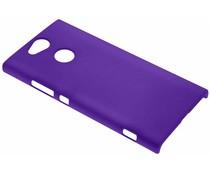 Paars effen hardcase hoesje Sony Xperia XA2