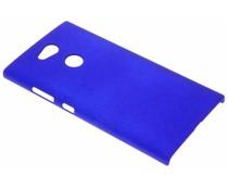 Blauw effen hardcase hoesje Sony Xperia L2
