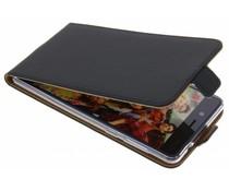 Selencia Zwart Luxe TPU Flipcase Nokia 8