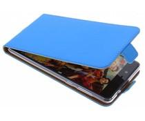 Selencia Blauw TPU Luxe Flipcase Nokia 8