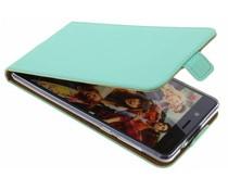 Selencia Mintgroen TPU Luxe Flipcase Nokia 8
