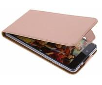 Selencia Rosé Goud TPU Luxe Flipcase Nokia 8